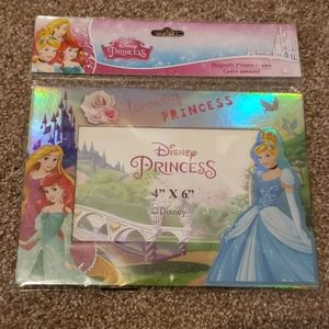 Princess magnetic picture frame